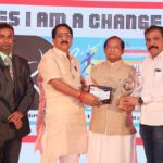 "Odisha's Surjya Narayan Patro wins national award for ""India's Best Performing Minister in a state in India"" in Mumbai."