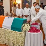 Naveen Patnaik visits Delhi to offer condolences to the passing away of  Former PM Atal Bihari Vajpayee