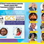 "Leading industry Experts, HR Leaders, Noted Academicians, Educationists to meet at GSC Conclave 2019 to discuss  ""Convergence of Industry – Academia Expedition"" at  Surana Educational Institutions  2ND ANNUAL TRANSFORMATIONAL LEADERSHIP SUMMIT & AWARDS 2019"